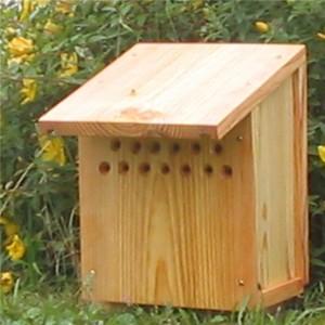 attirer les chrysopes avec un refuge à chrysopes - source ferme de sainte Marthe