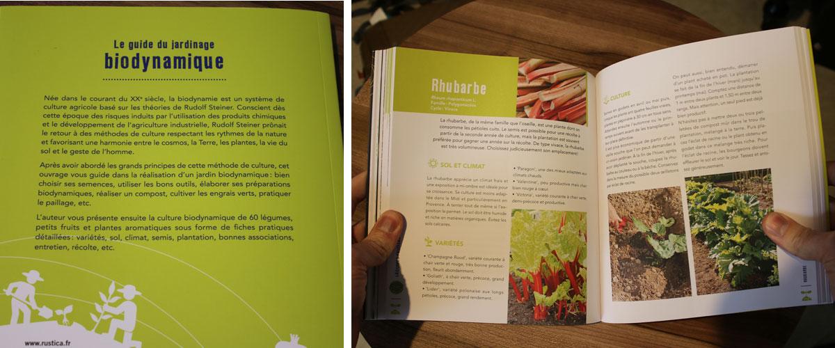 Le guide du jardinage en biodynamie - quatrième et extrait
